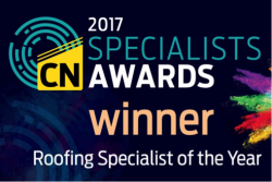 2017 CN Roofing Specialist award winner - SPV Group