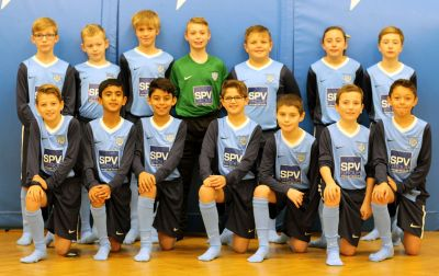 SPV Group support kids football team
