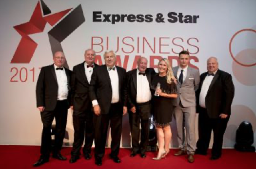 SPV crowned winners of the Community Champions category at the Express and Star Awards in 2017