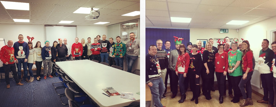Christmas Jumper day at SPV Group